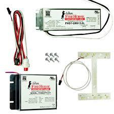 emergency lights with battery backup fulham fhskitt10lhf led emergency backup lighting