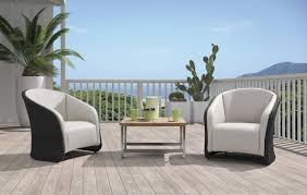 Modern Outdoor Patio Furniture Save Your Outdoor Furniture From Discoloration La Furniture Blog