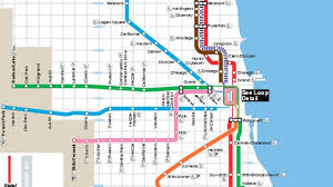 Austin Airport Map by Blue Line Chicago Map Map Of Chicago Blue Line United States Of