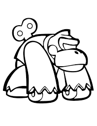 donkey kong wind up toy coloring page h u0026 m coloring pages