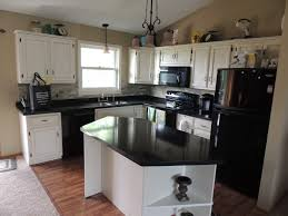 how to refinish kitchen cabinets dark and light granite that can