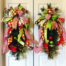 christmas wreath christmas swags christmas door swags christmas