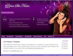 purple passion template