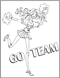 cheerleading s free coloring pages on art coloring pages