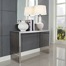 Entry Console Table With Mirror Best 25 Contemporary Console Tables Ideas On Pinterest Black