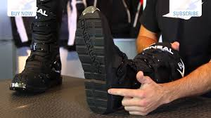 oneal element motocross boots o u0027neal rider boots motorcycle superstore youtube