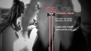 tv commercials c e roth formal wear commercial on vimeo
