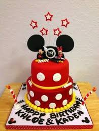 Red Minnie Mouse Cake Decorations M Cake We Need This For Our Wedding Bash Instead Of A Regular