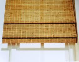 Wooden Roman Shades Bamboo Shades Decoration U2014 Hoffmans Santacruz Designs
