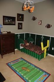 FOOTBALL Dresser My Projects Pinterest Dresser Room And Boys - Kids football room