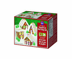 amazon com wilton 2104 1910 mini village gingerbread gingerbread