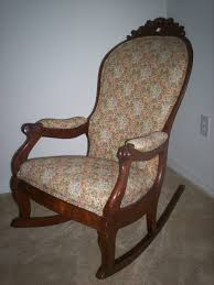 Victorian Upholstered Chair Antique Rocking Chairs Bing Resimler Rocking Chair Sallanan