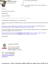 lcie bureau veritas eft930sm payment terminal cover letter r 351f cs02702 sagem fcc