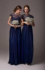 blue lace bridesmaid dresses midnight blue lace bridesmaid dresses with sleeves chiffon