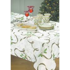 decorating lenox table runner and lenox tablecloth
