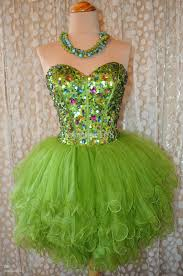 green tulle image h15 green tulle crystals strapless real photo jpg
