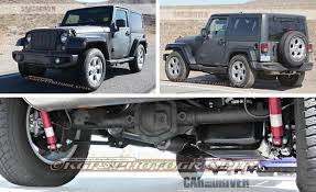 jeep truck spy photos 2017 jeep wrangler spied we look underneath news car and driver