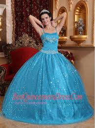 quinceanera dresses with straps gown spaghetti straps floor length sequined beading