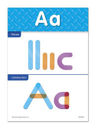 Learning To Write Abc Worksheets Amazon Com Learning Resources Letter Construction Activity Set