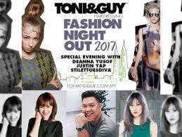 fashion night out with toni u0026 guy bangsar u2014 diva in me