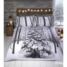 Christmas Duvet Cover Sets Buy White Rapport Winter Sparkle Christmas Duvet Cover Set At