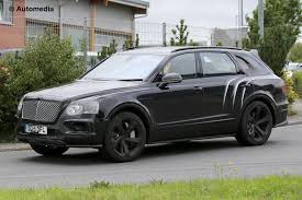 bentley modified first spy shots of the bentley bentayga speed emerge gtspirit