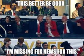College Football Memes - trump gets a national anthem moment at football title game san