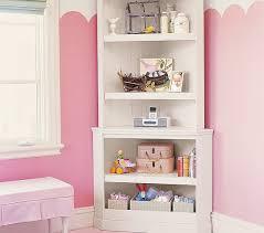 Corner Bookcases Corner Bookcase Hutch Pottery Barn