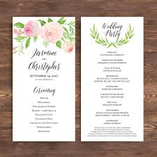 wedding ceremony programs wording wedding weddingemony program programs exles diy
