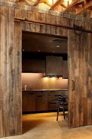 The Kitchen Design 25 Trendy Kitchens That Unleash The Allure Of Sliding Barn Doors