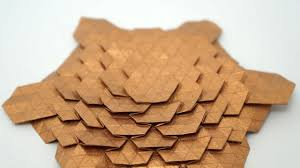 Origami Tessalation - origami spread hex tessellation eric gjerde normal speed
