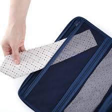 t shirt organizer non woven fabric fashion women men travel suitcase organizer