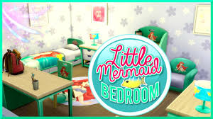 little mermaid bedroom the sims 4 little mermaid bedroom youtube