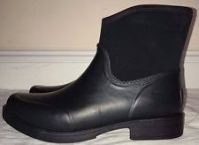 ugg s madelynn boots black ugg australia rainboots pull on rubber boots for ebay