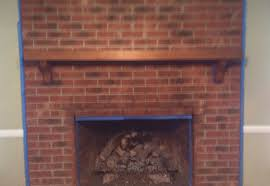 can i paint my brick fireplace gqwft com