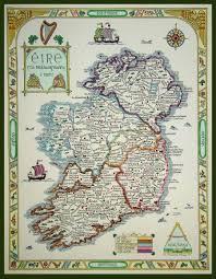 Map Ireland Hand Drawn Ireland Map Ireland U2022 Mappery