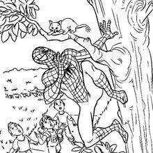 spiderman infected venom parasite coloring pages