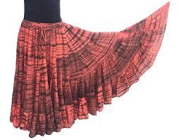 tiger stripe skirt 3 senoritas tribal designs