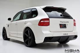 Porsche Cayenne White - porsche cayenne wide body kit by misha designs porsche tuning mag