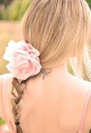 hair chiffon top 10 diy floral hair accessories top inspired