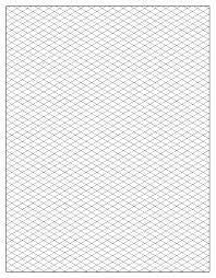 printable isometric paper a4 free isometric graph paper dibujo tridimensional loomis andreu