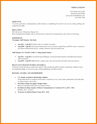 communications resume examples 7 resume example college student nurse homed resume example college student easy objective for a college student resume examples jpg