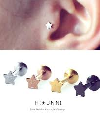 pagoda earrings gold piercing earrings piercing pagoda white gold earrings