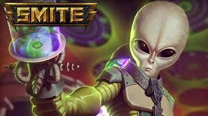 alian a h smite skin spotlights galactic invader ah puch skin jokes