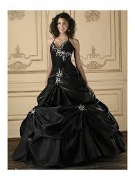 Gothic Wedding Dresses Black Embroidery Ball Gown Gothic Wedding Dress Devilnight Co Uk