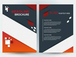 brochure design templates cdr format free download abstract vector