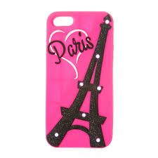 Eiffel Tower Accessories Silicone Light Up Glitter Eiffel Tower Phone Case Claire U0027s Ca