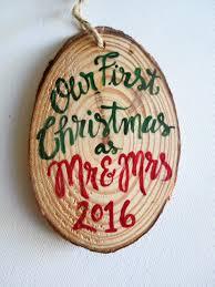newlywed christmas ornament wedding ornament first christmas
