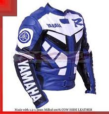 blue motorcycle jacket yamaha r1 blue racing leather motorcycle jacket with hump all
