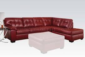 Soho Sectional Sofa Soho Sectional Sofa In Bonded Leather Match By Acme